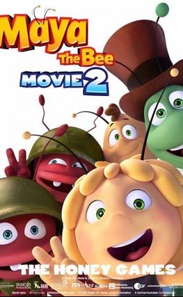 Portada de la película La abeja Maya: Los juegos de la miel