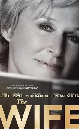 Portada de la película La buena esposa (The Wife)