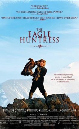 Portada de la película La cazadora del águila