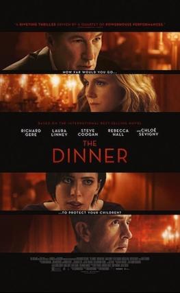 Portada de la película La cena
