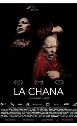 Portada de la película La Chana