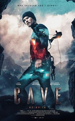 Portada de la película La cueva, descenso al infierno