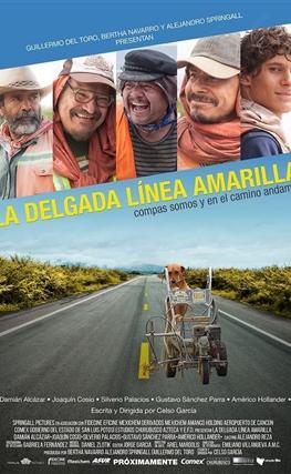 Portada de la película La delgada línea amarilla