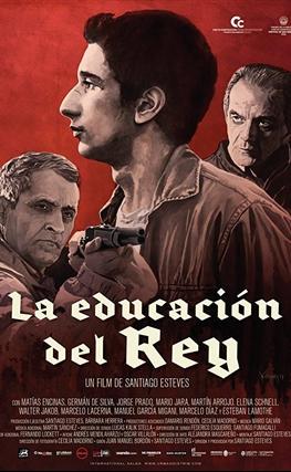 Portada de la película La educación del rey