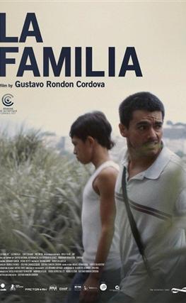 Portada de la película La familia