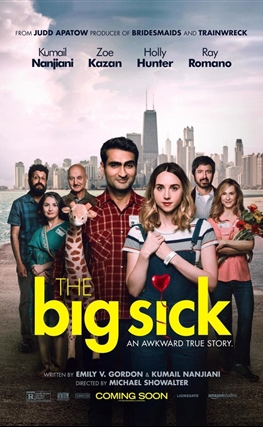Portada de La gran enfermedad del amor (The Big Sick)