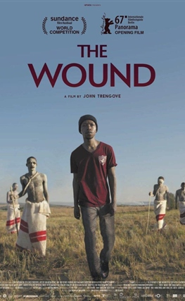 Portada de la película La herida (The Wound)