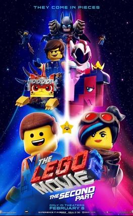 Portada de la película La LEGO película 2