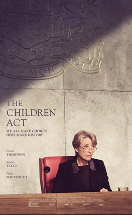 Portada de la película La ley del menor (The Children Act)