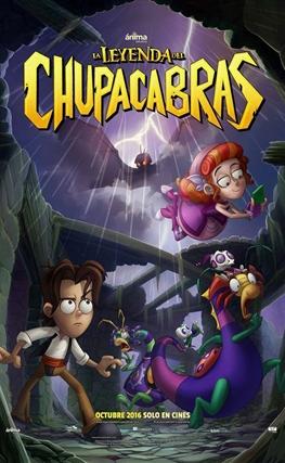Portada de la película La leyenda del Chupacabras