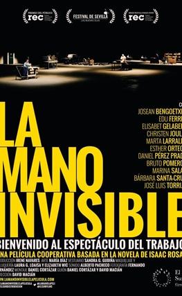 Portada de la película La mano invisible