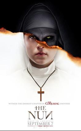 Portada de la película La monja