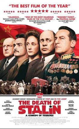 Portada de la película La muerte de Stalin