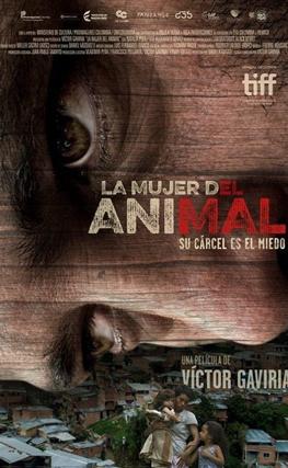 Portada de la película La mujer del animal