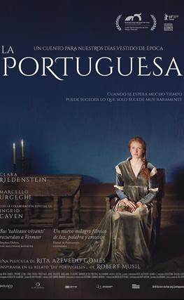 Portada de la película La portuguesa