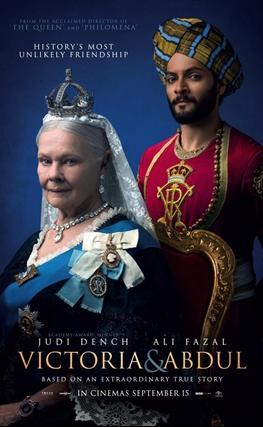 Portada de la película La Reina Victoria y Abdul
