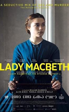 Portada de la película Lady Macbeth