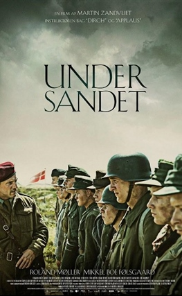 Portada de Land of Mine (Bajo la arena)
