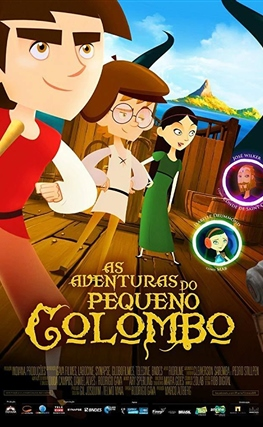 Portada de la película Las aventuras del pequeño Colón