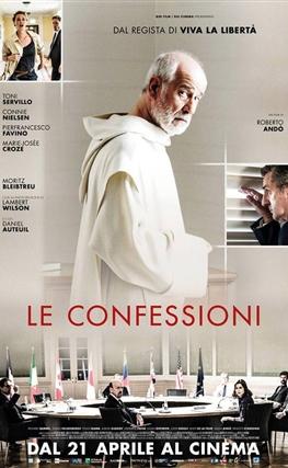Portada de la película Las confesiones