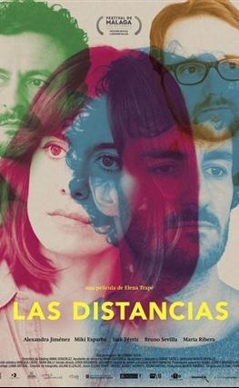Portada de la película Las distancias