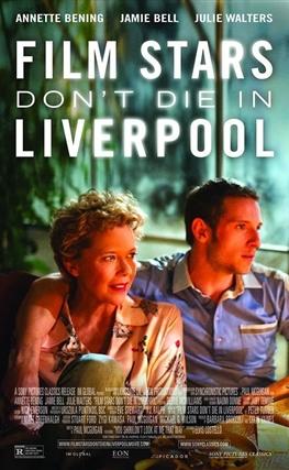 Portada de la película Las estrellas de cine no mueren en Liverpool
