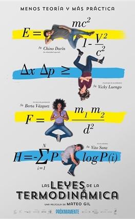 Portada de la película Las leyes de la termodinámica