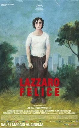 Portada de la película Lazzaro feliz