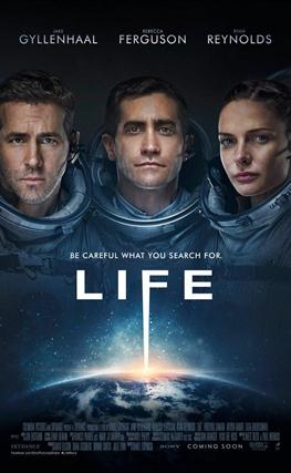 Portada de la película Life (Vida)