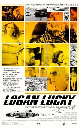Portada de la película Logan Lucky