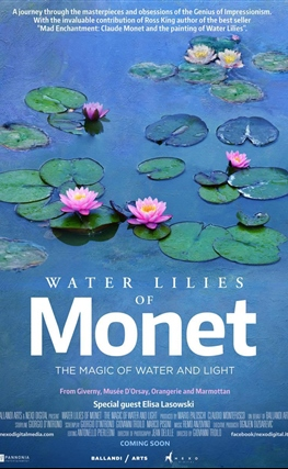 Portada de Los nenúfares de Monet