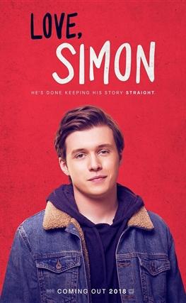 Portada de la película Love, Simon