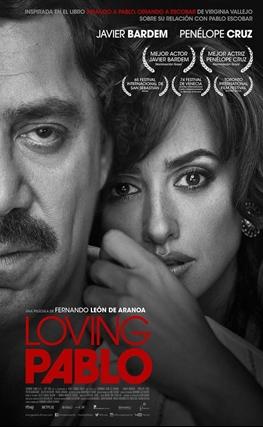 Portada de la película Loving Pablo