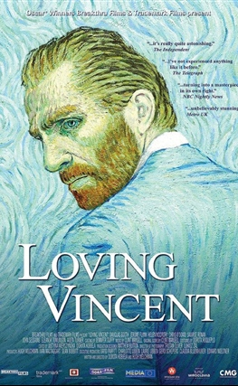 Portada de la película Loving Vincent