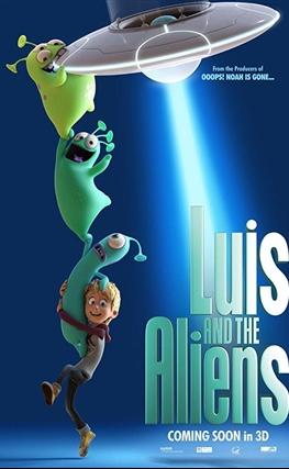 Portada de la película Luis & the Aliens