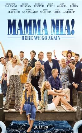 Portada de la película Mamma Mia: Una y otra vez