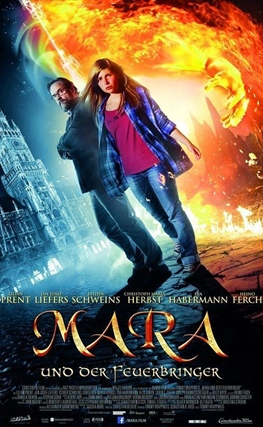 Portada de la película Mara y el señor del fuego
