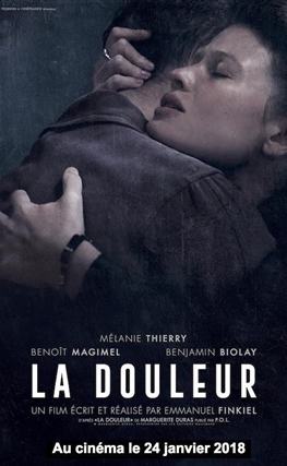 Portada de la película Marguerite Duras. París 1944