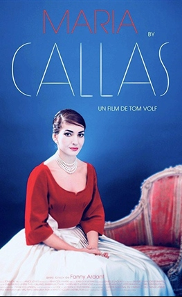 Portada de la película Maria by Callas