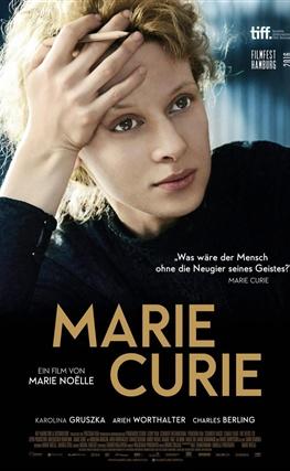 Portada de la película Marie Curie