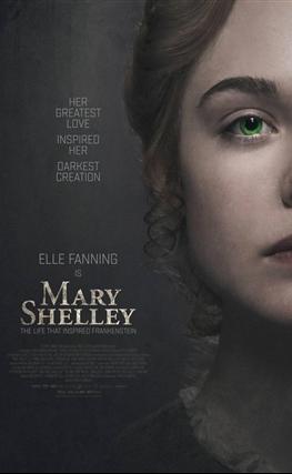 Portada de la película Mary Shelley