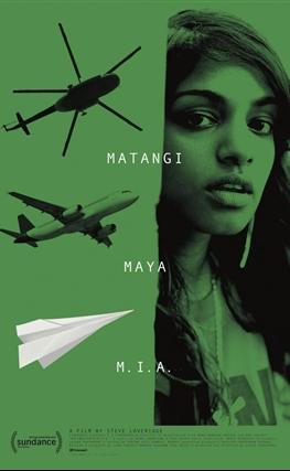 Portada de la película Matangi / Maya / M.I.A.