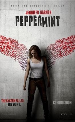 Portada de la película Matar o morir (Peppermint)