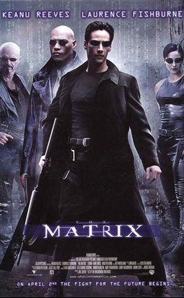 Portada de la película Matrix