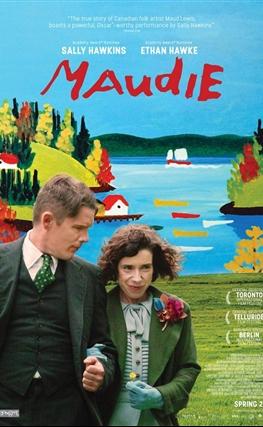 Portada de la película Maudie
