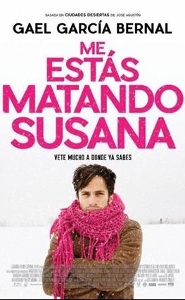 Portada de la película Me estás matando, Susana