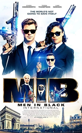 Portada de la película Men in Black International