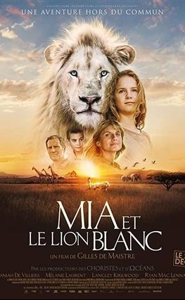Portada de la película Mia y el león blanco