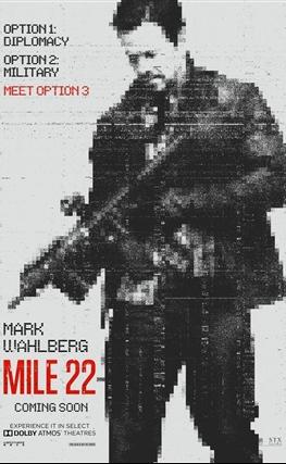 Portada de la película Milla 22