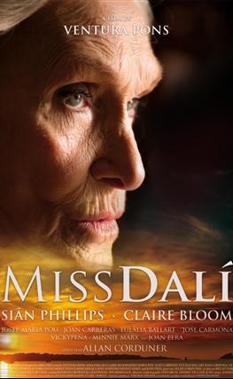Portada de la película Miss Dalí